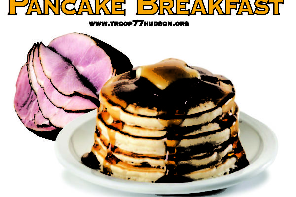 Pancake Breakfast fundraiser for Scouting